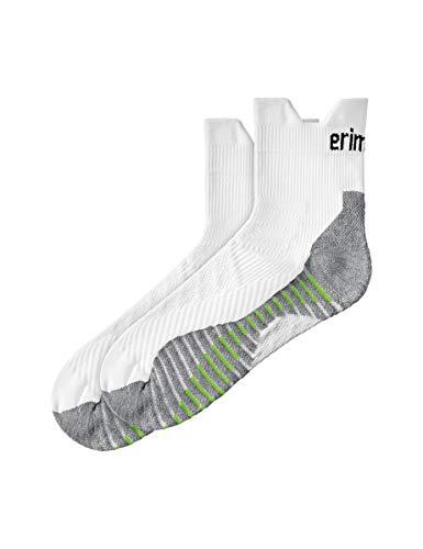 ERIMA Socken Laufsocken, weiß, 35-38, 2181909