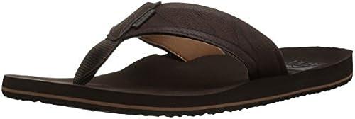Reef Men& 039;s TWINPIN + Sandal, braun, 13 M US