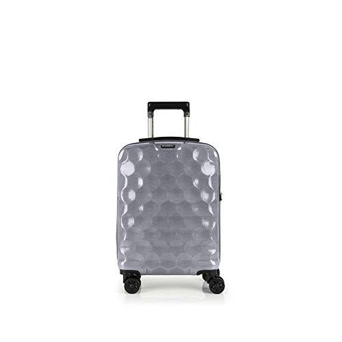 Gabol - Air | Maleta de Cabina Rigidas de 37 x 55 x 20 cm con Capacidad para 33 L de Color Plata