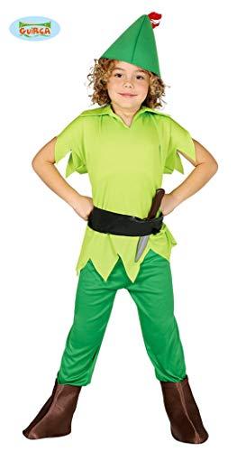 Disfraz de Peter Pan (Talla 7-9 Años)
