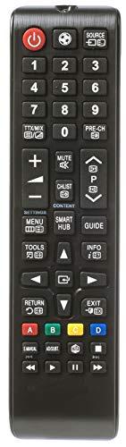 Ersatz Fernbedienung passend für Samsung UE55MU6100 | UE55MU6120 | UE55MU6122 | UE55MU6125 | UE55MU6199 | UE55MU6199UXZG