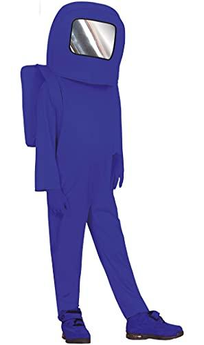 Guirca Disfraz de Astronauta Impostor Azul para nios