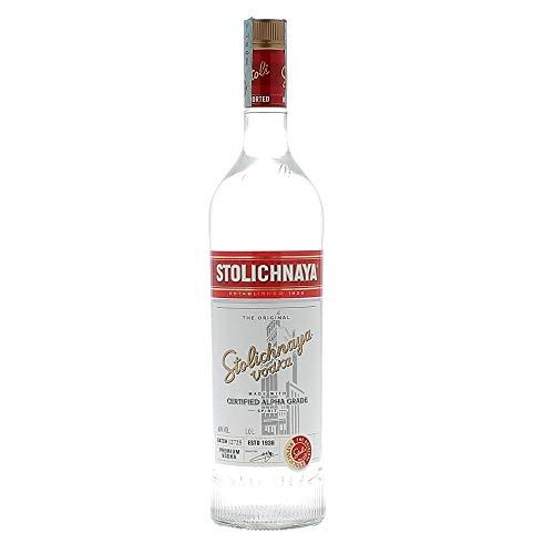 Stolichnaya Vodka 40%, 1 l