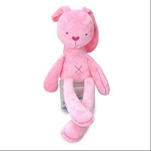 Knuffel, Pop Knuffels Knuffels Zachte Babykinderen Voor Kinderen Meisjes Kawaii Konijn 46cm Roze