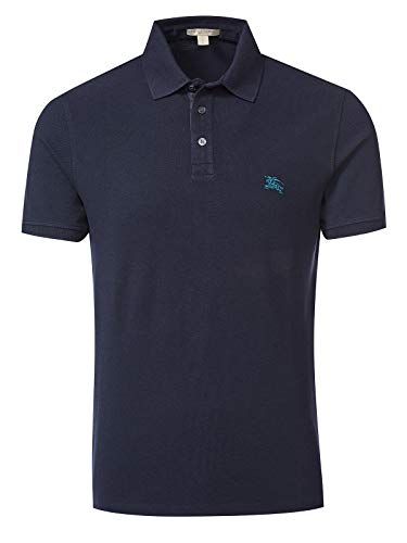 BURBERRY Brit Poloshirt, True Navy Gr. XS, Marineblau (True Navy)