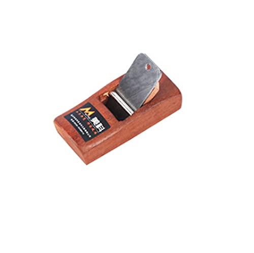 Breezliy かんな ミニ型 ミニ鉋 研ぎ器 木工用鉋 替刃式 カンナ DIY 修理 細工 ハンドル付き(110mm)