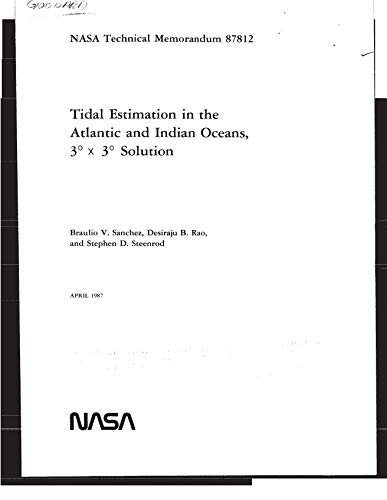 Tidal estimation in the Atlantic and Indian Oceans, 3 deg x 3 deg solution (English Edition)