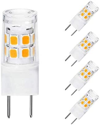 G8 LED Bulb 3W WB25X10019 Halogen Bulb 20W Replacement for GE Microwave Oven Light T4 JCD Type product image