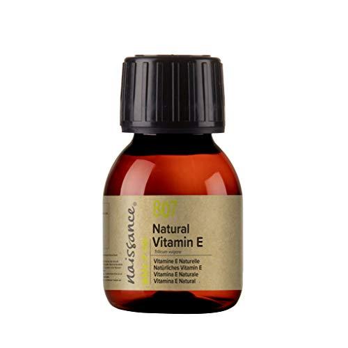Naissance Vitamina E n. º 807 (Aceite) – 60ml - Natural, vegana, libre de hexano y no OGM.