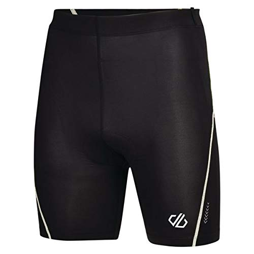 Dare 2b Short Cycle Bold Homme, Black/White, FR : M (Taille Fabricant : M)