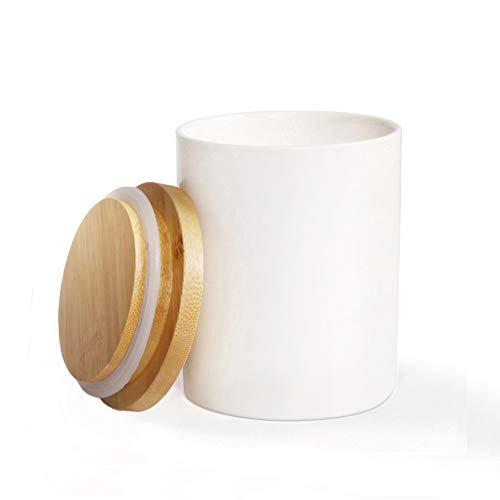 Ogquaton Caja del condimento del Tanque de Acero Inoxidable Almacenamiento del condimento Tanque a Prueba de Humedad Botella del condimento de la Sal del Tanque de az/úcar Creativo 1 Pieza Plata