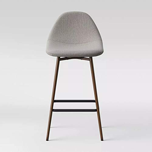 Copley Upholstered Counter And Bar Stools Dark Gray - Project 62™
