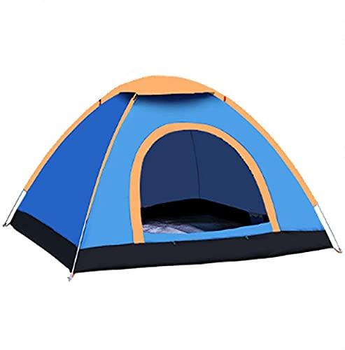 PJPPJH Tenda per attività Ricreative all'aperto Doppia Tenda da Campeggio e da Picnic Tenda ad Apertura Rapida Blu 78,74x59,05x45,27 Pollici