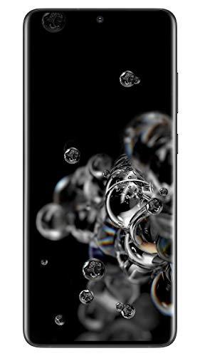 Samsung Galaxy S20 Ultra 5G 128GB SM-G988B/DS Dual-SIM (GSM Only | No CDMA) Factory Unlocked Smartphone - International Version (Cosmic Black)