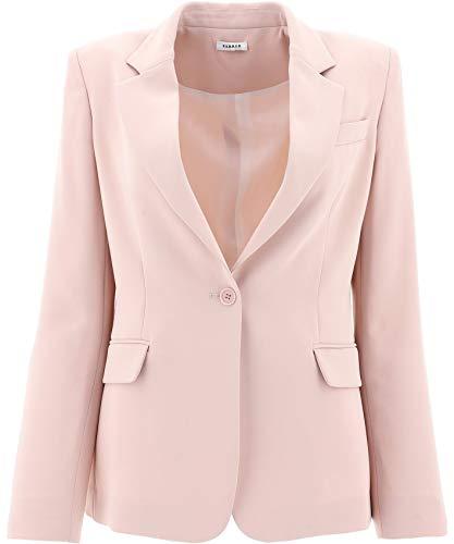 Luxury Fashion | P.a.r.o.s.h. Dames PANTERSD420220063 Roze Katoen Blazers | Lente-zomer 20