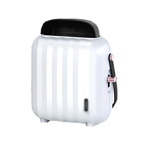 SHENXINCI Calefactor Eléctrico 300W, Mini Calefactor Cerámico Calentador de Espacio Portátil Personal para,Oscilación Automática, Protección de Sobrecalentamiento,Blanco/Rosa/Azul