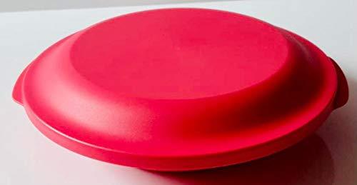 Tupperware Teller mit Deckel XXL verschiedene Farben 700ml Dose mit Deckel auslaufsicher (hummer)