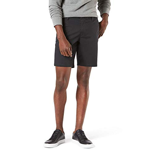 Dockers Men's Straight Fit Supreme Flex Ultimate Short, black, 38W
