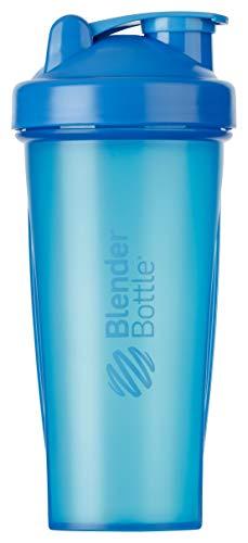 BlenderBottle Classic Shaker | Shaker Protéine | Bouteille d'eau |Blenderball | 820ml - Cyan