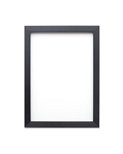 Zwart-A3 - Regenboogkleurige fotolijst/foto-/posterlijst - met een achterwand van MDF - van onbreekbaar plexiglas van styreen voor hoge helderheid