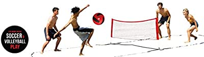 Wicked Big Sports Takraw Juggle Volleyball and Soccer Supersized Portable Outdoor Sports Tailgate Backyard Beach Game