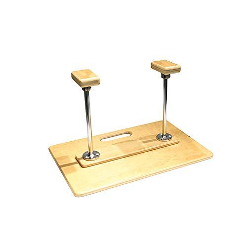 Multifunctioneel houten yoga-balanstrainingsbord, sit-ups, push-ups, yoga-balanstrainingsmat, afneembare armsteun, indoor fitness, handstand, pilates