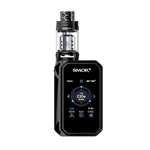 NEW SMOK G-PRIV 2 KIT 230W with TFV8 X-BABY Tank 2ml TPD Compliant (Silver/Black)