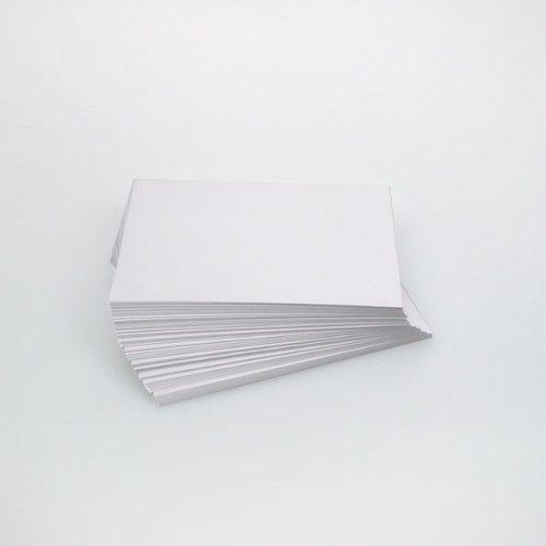Karteikarten, 500 Stück, blanko, 190 g (weiß, DIN A6)