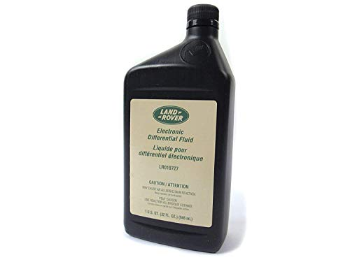 Genuine Land Rover LR019727 Rear Electronic Locking Differential Fluid (1 Quart) for LR3, Range Rover, and Discovery 5