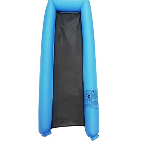 Karidesh Fauler Verbrauch des Übergroßen Wassers des Sommers Sofa-Sich Hin- Und Herbewegende Reihenhängematte des Sich Hin- Und Herbewegenden Betts Ohne Das Pumpen Der Luftpumpe (Color : Sky Blue)