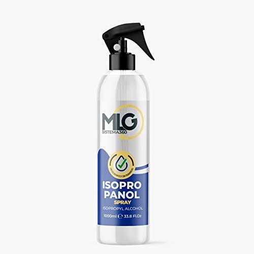 Isopropílico 99,9% 1000ml con Spray | Alcohol IPA de Limpieza | Ideal para limpieza de componentes electrónicos 1 Litro