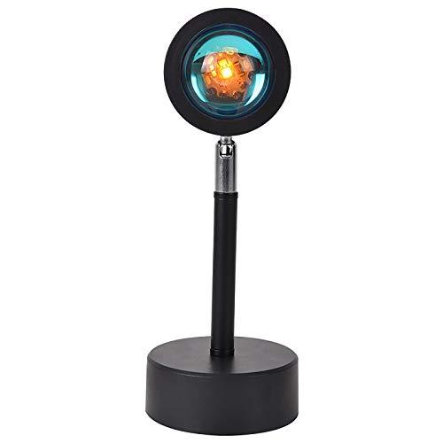 DecorKART Luz led Arco Iris Puesta de Sol proyección 180 Grados rotación Arco Iris lámpara de proyección para la Sala de Estar de la Fiesta en casa lámparas de Dormitorio