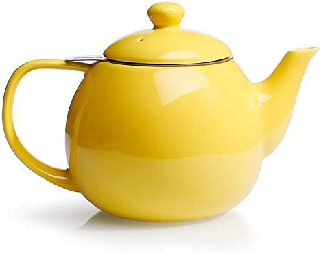 Sweese 221 105 Teapot Porcelain Tea Pot with Stainless Steel Infuser Blooming Loose Leaf Teapot product image