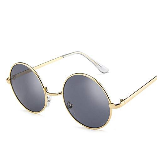 ShSnnwrl Único Gafas de Sol Sunglasses Gafas Negras Nuevo Diseñador Mujer Hombre Gafas De Sol Anteojos Moda Retro Damas Amarillas