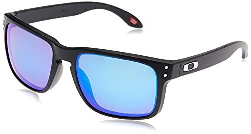 Oakley Holbrook 9102f0 Gafas de Sol, Matte Black, 57 para Hombre