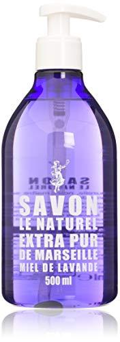 Savon Le Naturel - Extra Pur de Marseille au Miel de Lavande - 500 ml