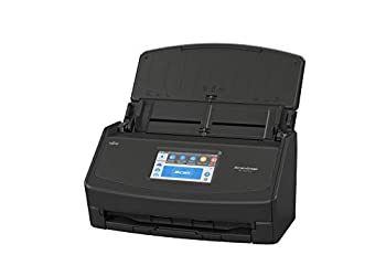Fujitsu ScanSnap iX1500 Color Duplex Document Scanner with Touch Screen for Mac and PC  Black Model