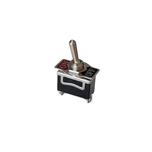 eDM E45052 Interruptor Unipolar Rabillo Metalico 10A, Multicolor, 250 V