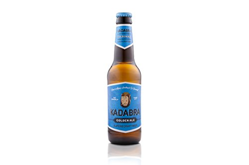 Cerveza KADABRA Golden ale 12 unidades de 33cl