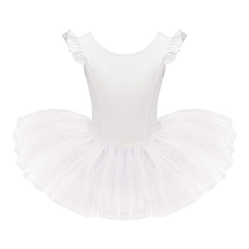 TiaoBug Children Girls Ballet Dance Leotard Tutu Dress Skirt Princess Fancy Dancewear Costume
