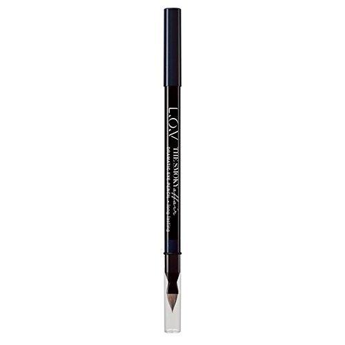 L.O.V. The Smoky Affair Dramatic Eye pencil, Crayon yeux smoky, impact d'un regard charbonneux, couleur qui tient, texture crème douce, n°320 Magic Aurora, 1.2 g, 0.042 oz.