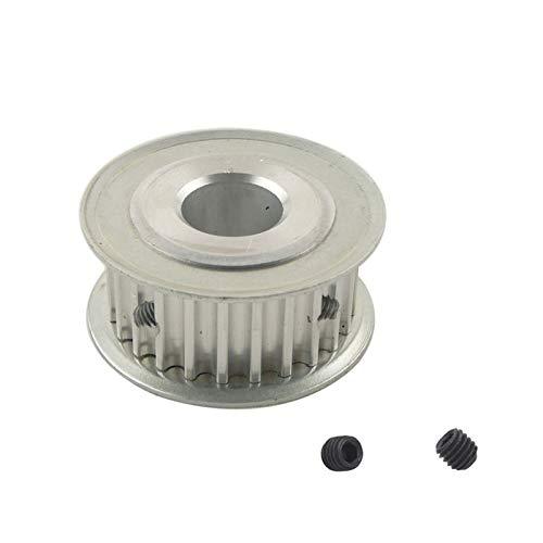 WYanHua-Polea de distribución, 1 UNID HTD 5M 25T Tiempo de tiempo 16mm Ancho de la correa, 5 mm / 6mm / 6.35mm / 8mm / 10mm / 12mm / 12.7mm / 14mm / 15mm / 14mm / 15mm / 16mm / 17mm Bore, Tono de 5 mm