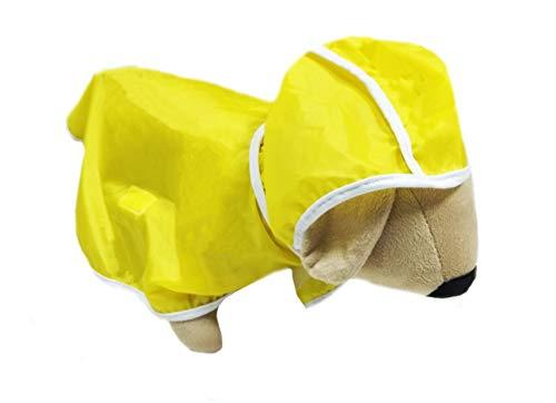 Capa de Chuva Amarela Pet para Cães e Gatos Tamanho GG SS Pets para Cães