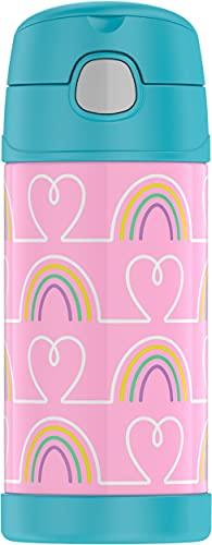 Garrafinha Térmica infantil Funtainer 355ml - Thermos 12h frio - Corações (Corações)