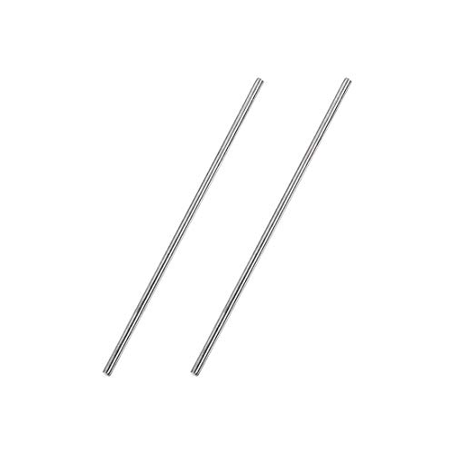 1.5mm x 100mm 304 Stainless Steel Solid Round Rod for DIY Craft 2pcs