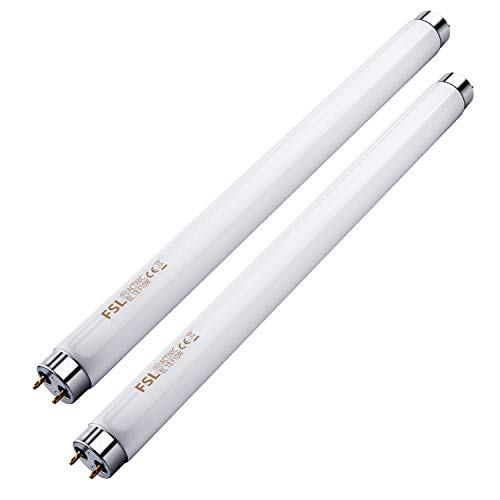 Kensizer 2-Pack Bug Zapper Replacement Light Tube 10W for 20W Electronic Bug Zapper T8 Lamb Bulbs
