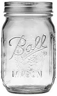 Joyevic Ball Regular Mouth 16-Ounces Mason Jar