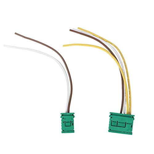 Kimiss ABS 2 stuks auto blazer weerstand verbindingsstuk, blazer verbindingsstuk kabel