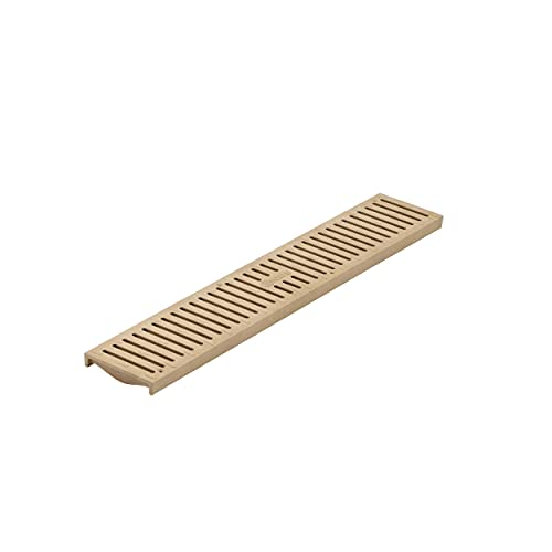NDS, Sand 244 2' Speed Channel Grate, 4-1/8 in. wide X 2 ft. long