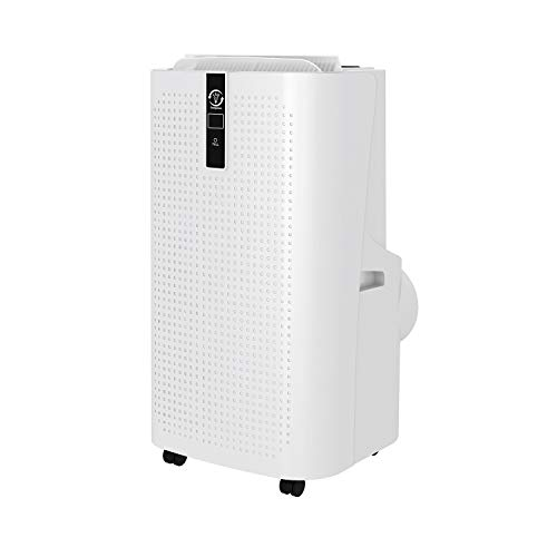 Famgizmo 4-in-1 Portable Air Conditioner 12000 BTU with WIFI/Remote Control, 24 Hour Timer & Window Venting Kit Included, Powerful Air Conditioning Unit with Class A Energy Efficiency Rating